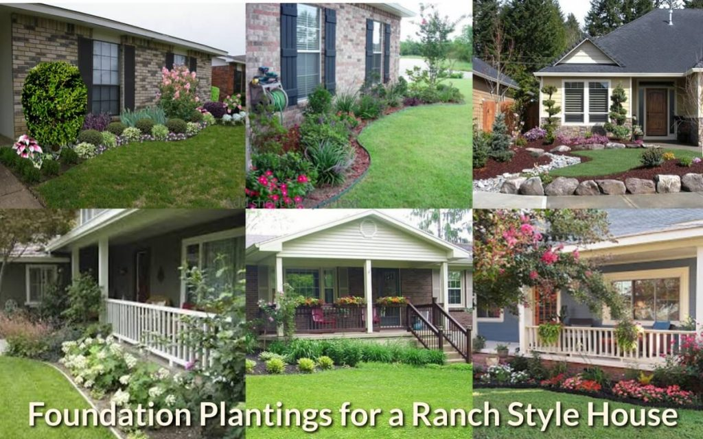 Foundation Plantings For A Ranch Style House Gardeninghow Com