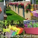 Best Over the Fence Plant Hangers